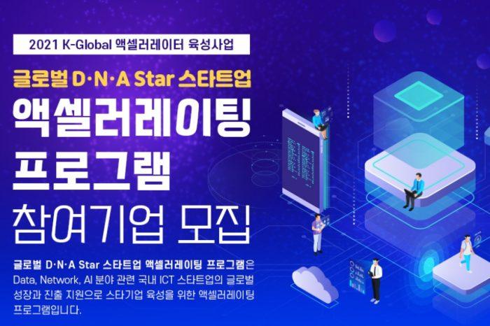 2021 글로벌 D.N.A STAR 스타트업 액셀러레이팅 프로그램